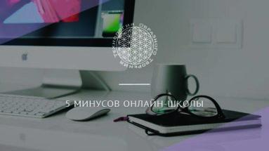 5 минусов онлайн-школы